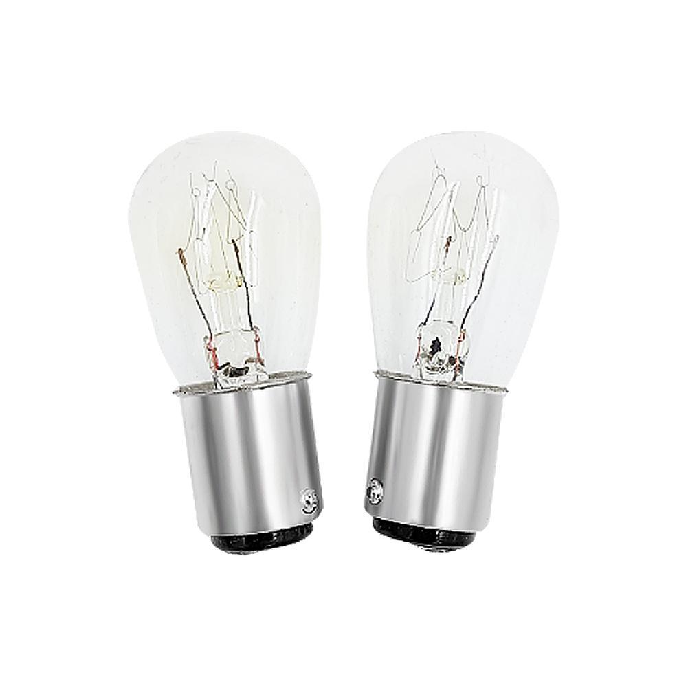 Набор ламп накаливания B15 для швейных машин, 220 В, 1000 ч, 15 Вт