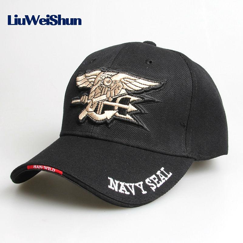 [LWS] Cool Men US Navy Seal Eagle Baseball Cap Sport Tactical Bone Gorras Snapback Cap outdoor Army Hat Solider Golf Casquette