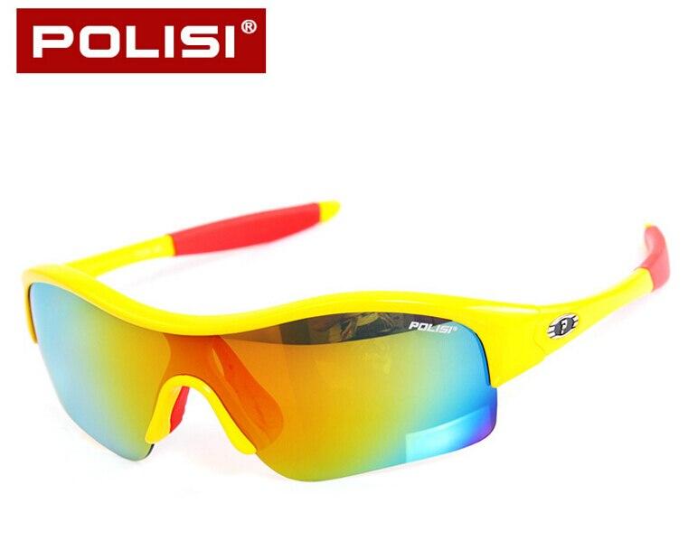 e253b12ffc9bb5 POLISI Polarisé Enfants Vélo lunettes de Soleil Miroir Lentilles Vélo  Enfant Vélo Lunettes Garçons Filles En Plein Air Lunettes
