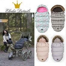 elodie details Baby stroller down sleeping bag stroller accessories for baby, stroller footmuff warmly sleep sack free shippping