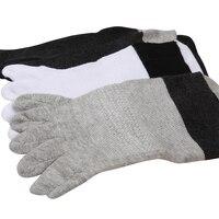 Men Winter Boat Socks Sweat Absorb Breathable Man Toe Cotton Socks Casual Comfortable Male Short Socks 3pairs/Lot