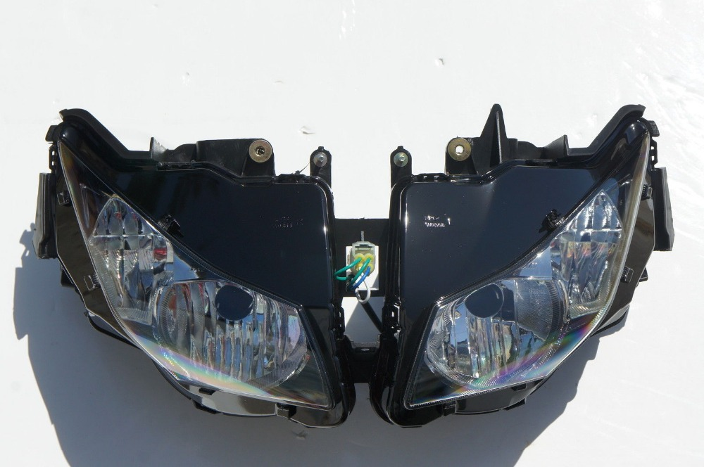 Motorcycle Front Headlight For Honda CBR1000RR 1000rr 2012 2013 CBR1000 Head Light Lamp Moto Headlamp motorsiklet Lighting phare scooter abs electroplate front headlight headlamp head light lamp small mask cap cover shield large for yamaha bws x 125 plating