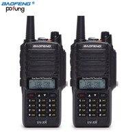 Sale! 2Pcs Baofeng UV-XR 10W High Power Dual Band 136-174/400-520MHz Waterproof Ham Two-Way Radio Walkie Talkie 10KM Long Range