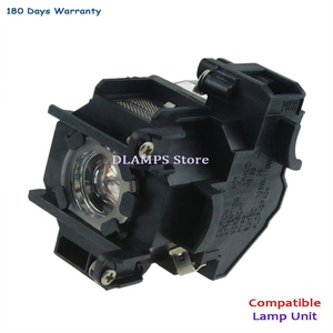 Image 4 - החלפת EMP 1700 EMP 1705 EMP 1707 EMP1710 1715/1717 EX100 1700c 1705c מקרן הנורה עם דיור V13H010L38 עבור EPSON