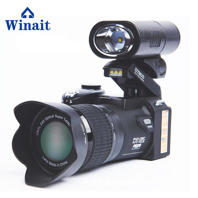Best Offers Winait Polo brand D7100/d7200 33MP DSLR digital video camera with changeable lens