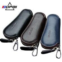 Genuine Leather Car font b Key b font font b Wallets b font Men font b