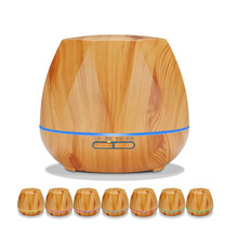 New Hot Sell Household Remote Control Aroma Diffuser 550ML Air Humidifier Aromatherapy Essential Oil With Color Light