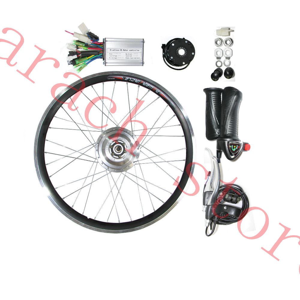 26'' 250W 48v  electric bicycle  front motor  ,electric bike conversion kit,mountain bike motor kit,electric bike kit 24v dc 250w electric scooter motor conversion kit my1016 250w brushed motor set for electric bike emoto skatebord bicycle kit