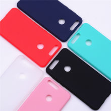 Huawei Honor 8 Case Cover Silicone Huawei Honor 8 Case Soft Candy Color Back Cover Silicon Case For Honor 8 TPU Cases(China)