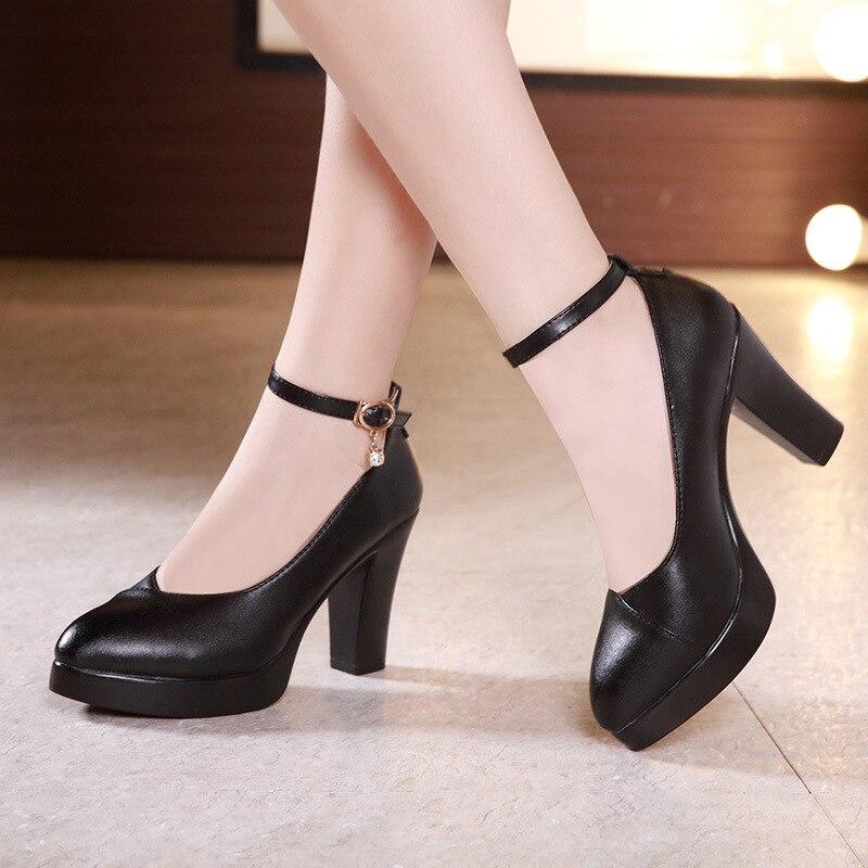 Black Heel Pumps