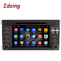 Idoing 2Din Steering Wheel For Porsche Cayenne Car Multimedia DVD Player Android7 1 GPS Navigation Video