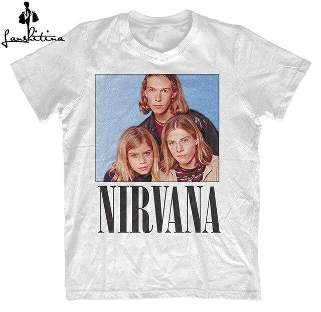 T-shirt dos homens da forma NOVA camisa NIRVANA HANSON PARÓDIA ENGRAÇADA T  SHIRT ENGRAÇADO 02dc37ba69b