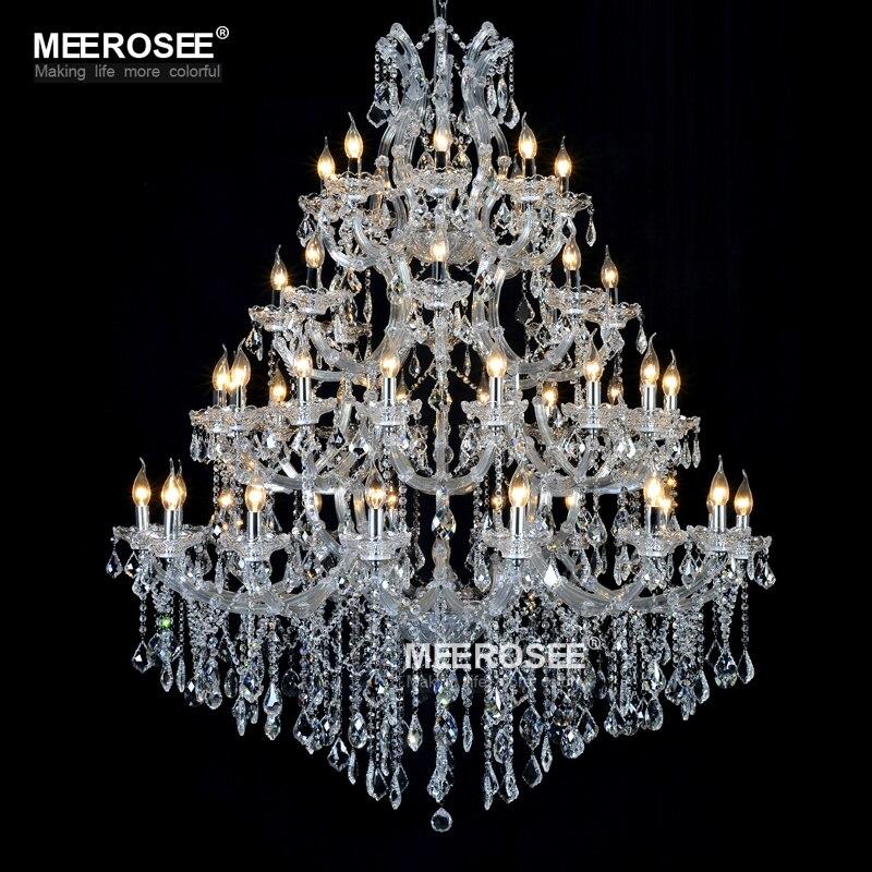 Lustre de candelabru de cristal mari de lux Maria Theresa Lumină de - Iluminatul interior - Fotografie 2
