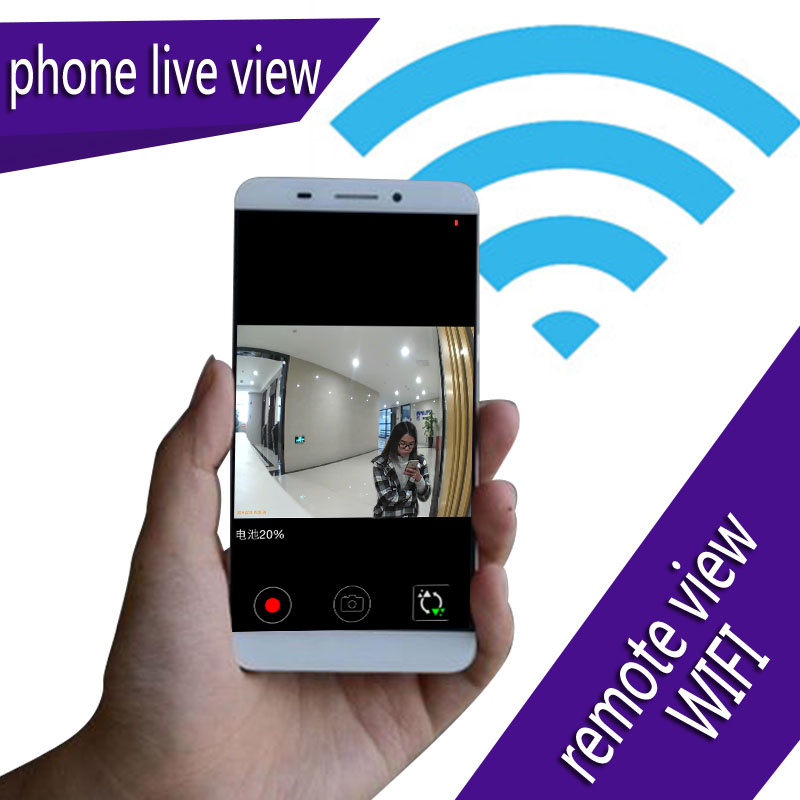 zetta wifi camera wireless HD remote live view with longest standby time wide angle motion detection recording