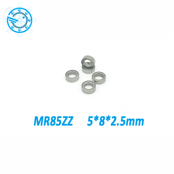10pcs MR85 MR85Z MR85ZZ 5x8x2.5mm 675  675Z  Shielded Miniature MINI Deep Groove Ball Bearings Single Row  L-850ZZ 5*8*2.5mm free shipping 10 pcs open type mr85 bearings 5x8x2 5 mm miniature ball bearings l 850 mr85