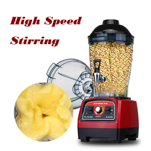 Commercial Large Capacity Blender 6L Vegetable Fruit Mixing Machine 2800w Food Mixer High Speed Foodprocessor