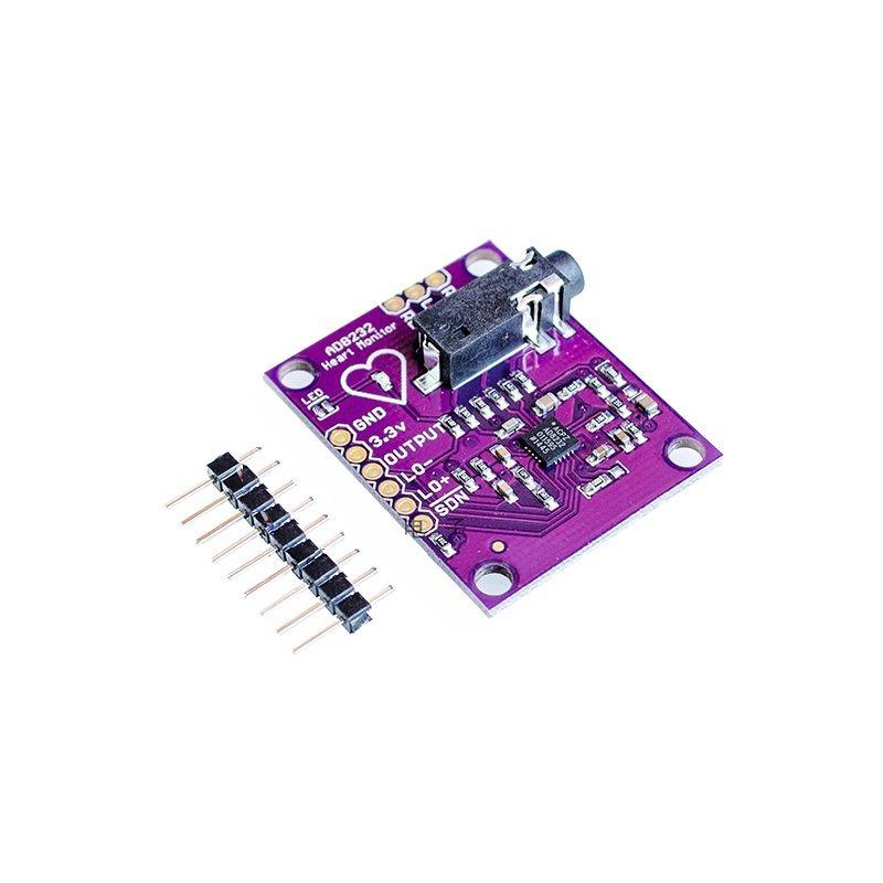 где купить Single Lead AD8232 Heart Rate Monitor/ECG Developemt Kit Arduino Compatible L85 по лучшей цене