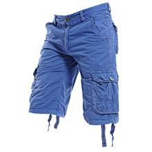 Cargo Shorts Mens Summer Fashion Army Military Tactical Men's Shorts Casual Multi-pocket Male Workout Short Pants Knee Shorts 2018 men multi pocket military cargo shorts casual cotton loose knee length army tactical shorts homme summer male sweatpants
