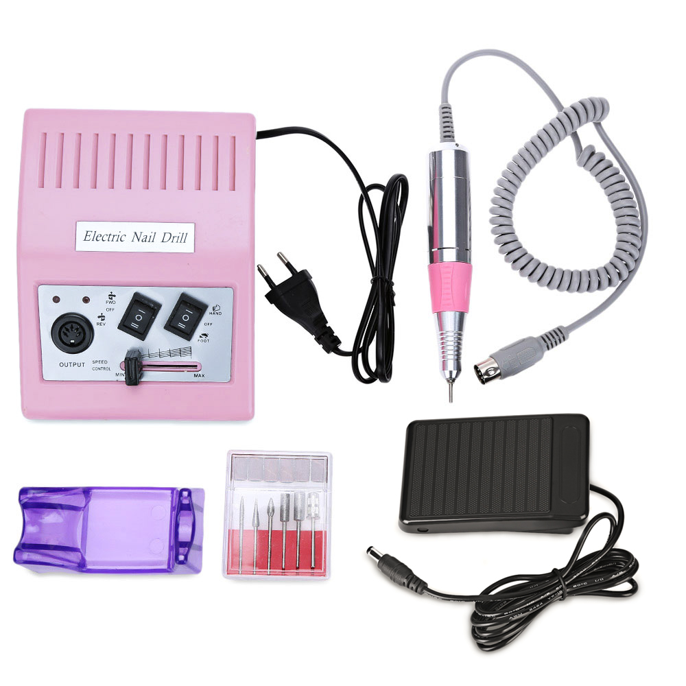 Gustala Pro Electric Manicure Drills High-Grade Transfer Fast Nail Salon Drill Kit Glazing Manicure Machine Pedicure Tools pro false nails machine gel varnish 35000rpm electric nail machine manicure kit salon