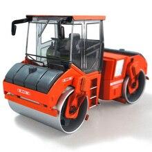 Масштаб 1:35 сплав тандем уплотнитель литья под давлением асфальтовый барабан уплотнитель сплава модели автомобилей инженерные Игрушки для мальчиков детские подарки