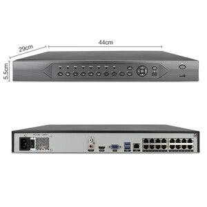 Image 2 - H.265 16CH 2MP 5MP poe nvr cctvセキュリティシステム16個ir屋外1080 1080pオーディオ記録ipカメラP2Pビデオ監視キット4テラバイト