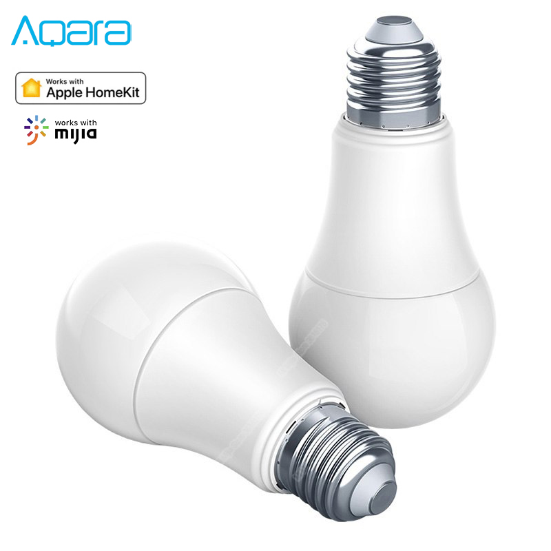 Original Aqara 9W E27 2700K-6500K 806lum Smart White Color LED Bulb Light For Xiaomi Mijia Mi Home APP Apple Homekit Aqara Home