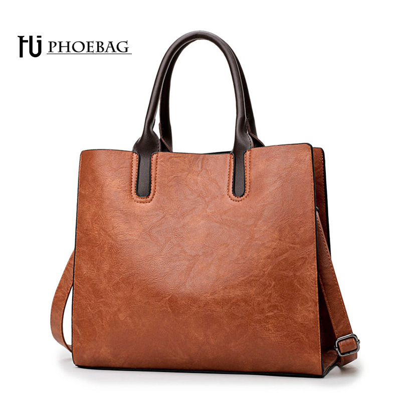 HJPHOEBAG Women Leather Handbags High Quality Casual Female pu Bags Trunk Tote Fashion Shoulder Bag Ladies Large Bolsos HJ-800 new women leather bag handbags high quality women messenger bag casual shoulder bags women tote bag clutch ladies bolsos mujer