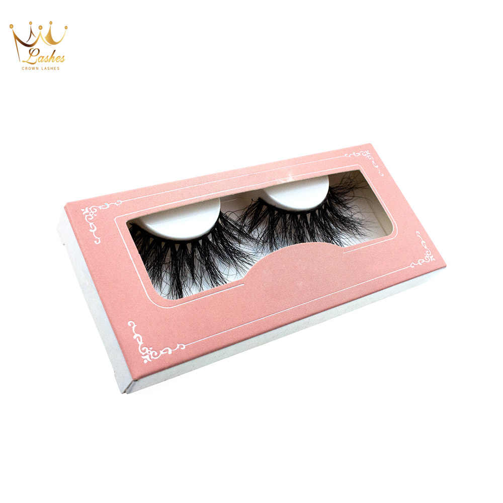 fc3059d0072 Crown Lashes 100 pairs custom eyelash packaging box free logo individual false  eyelashes 3d mink eyelash
