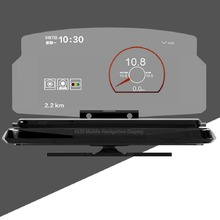Universal Car HUD Head Up Display Mobile Phone GPS Navigation HUD Bracket For Smart Phone Car Stand Folding Holder
