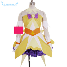 Pretty Cure Cure Twinkle Cosplay Costume Stage Performence Clothes , Perfect Custom for You !(China)