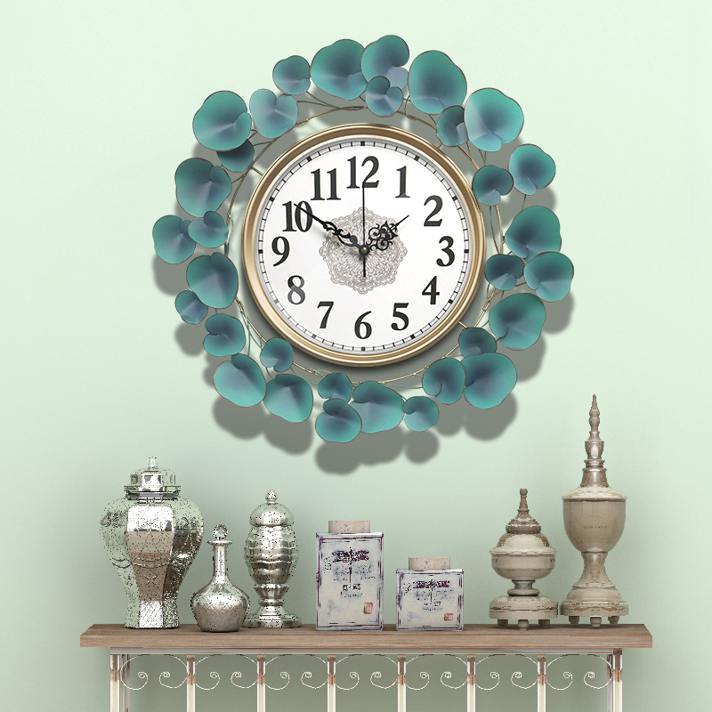58cm Nordic Clock Wall Clock Modern Design Mute Clock Living Room Home Fashion Decorative Quartz Clock Round Clock on The Wall