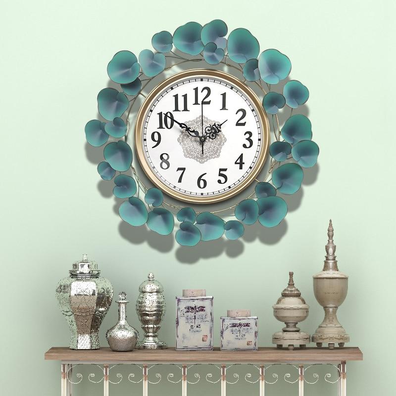58cm Nordic Clock Wall Clock Modern Design Mute Clock Living Room Home Fashion Decorative Quartz Clock Round Clock On The Wall