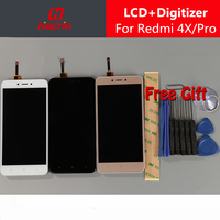 For Xiaomi Redmi 4X Screen With Frame Lcd Display Touch Screen Digitizer Assembly Replacement Panel For