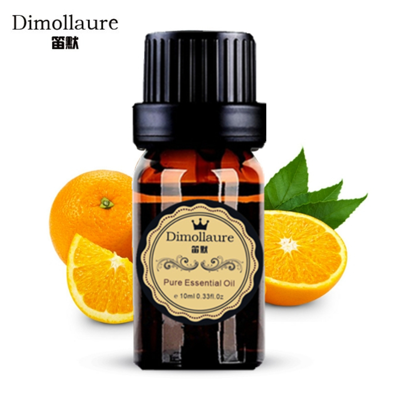 Dimollaure Sweet Orange Essential Oil helpful colds cough soothing mood skin care Aromatherapy Fragrance Lamp car