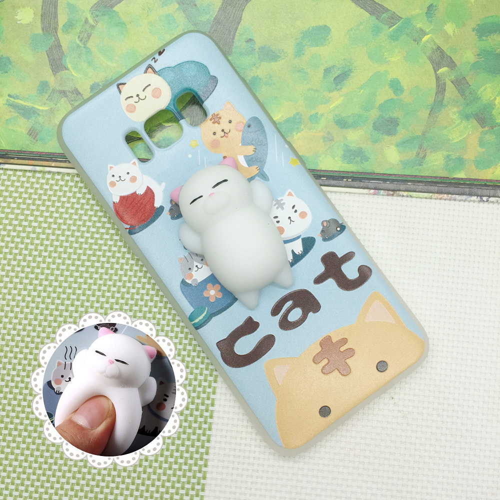 check out 68e9b 01bf7 US $3.59 |Squishy Phone Case for Sony X XZ XA for Samsung Galaxy S6 S7 S8  3D Cat Soft Cover for iPhone 5s 6 6s 7 Plus Huawei P10 P9 Lite-in ...