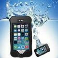 Mergulho projeto ultrafinos tela pet delicado para o iphone se 5 5s água/sujeira/à prova de choque à prova d' água shell phone case