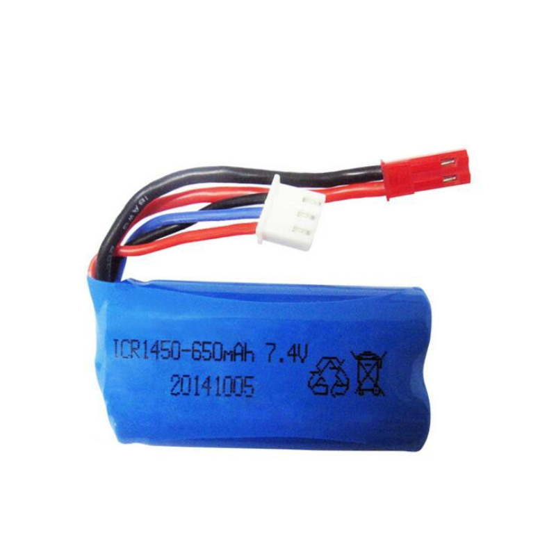 Free shipping 2pcs font b Battery b font 7 4V 650mAh Lipo font b battery b