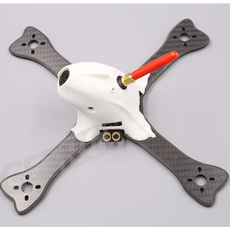 DIY FPV GEPRC 195mm GEP FX5 FlyingFish FPV Mini Racing Quadcopter with PDB XT60 Plug 3D Pringting Part And Low Windage - 3