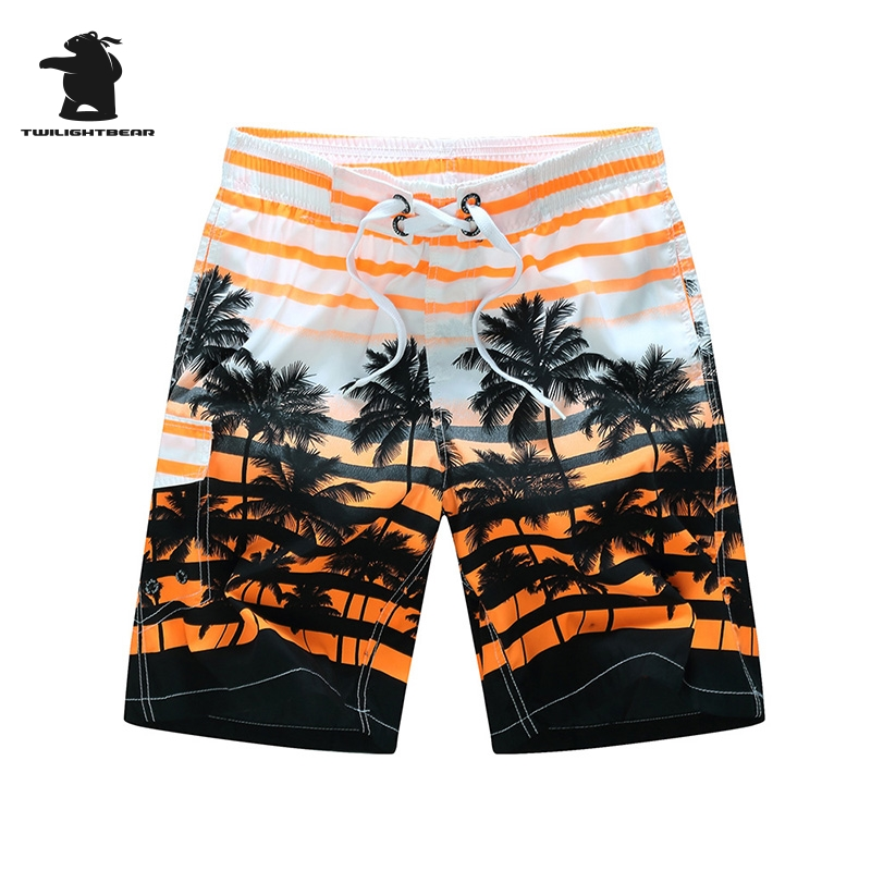Brand Mens Shot Board Shorts New Man Summer Fashion Printing Casual Shorts Stripe Quick Drying High Quality Size 6XL Beach HF25