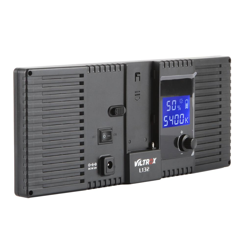 Viltrox L132T Luz de video LED Pantalla LCD ultra delgada Pantalla de - Cámara y foto - foto 3