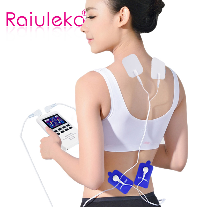 Multifunction Body Massager Slimming Tens Acupuncture Therapy Massage Electronic Pulse Neck Back Foot Pain Relief Patches Slim цена