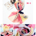 190*100CM women silk scarf 2017 new fashion style High quality brand design female scarf women outdoor necessary shawl