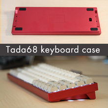 Tada68 Mechanical keyboard anode aluminum high Profiles made in china mini keyboard case