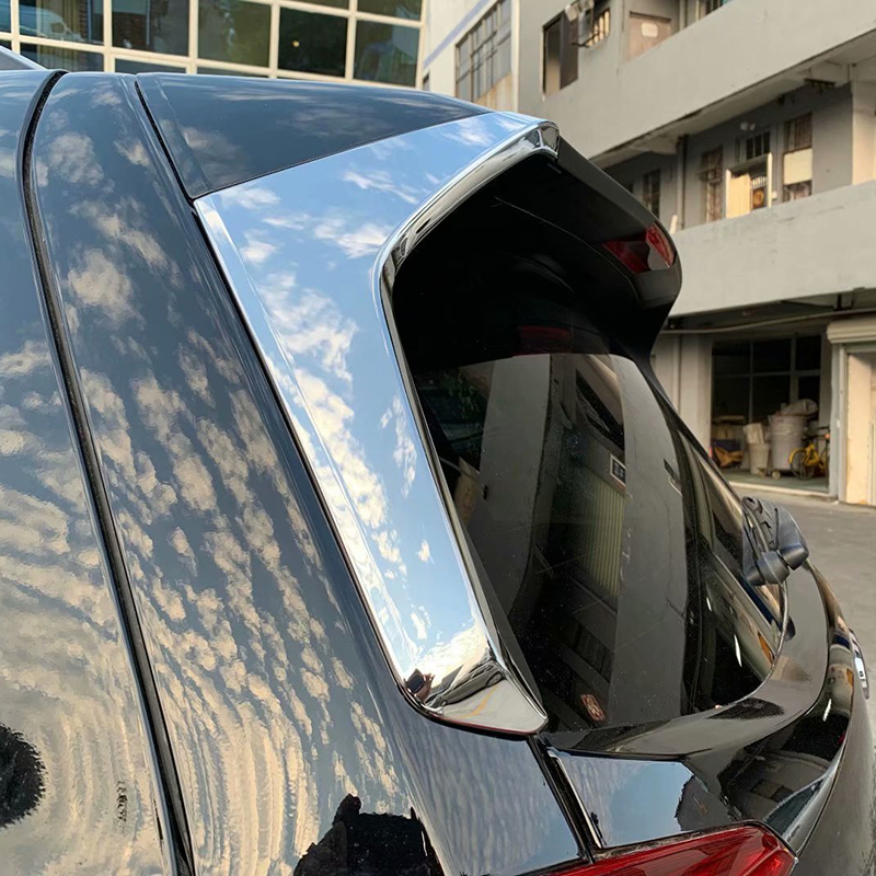 For Subaru Forester SK 2018 2019 ABS Chrome Exterior Accessories Rear Window Side Triangle Decoration Cover Trim Styling For Subaru Forester SK 2018 2019 ABS Chrome Exterior Accessories Rear Window Side Triangle Decoration Cover Trim Styling