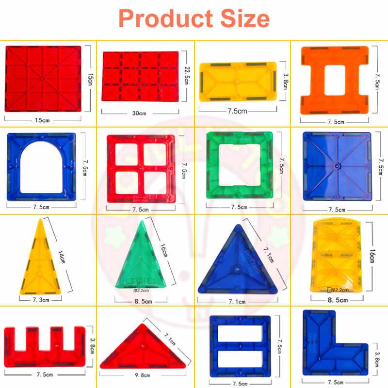 อาคารบล็อกแม่เหล็ก Constructor เกมแม่เหล็กของเล่นของเล่นเพื่อการศึกษาเด็ก LovelyToo