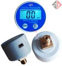 0-450psi USB デジタル圧力ゲージ バッテリ駆動