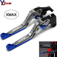 XMAX Motorcycle Accessories Aluminum Aluminum Brake Clutch Levers For YAMAHA X MAX X MAX XMAX 125 250 400 XMAX250 XMAX400