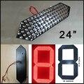 """24 """"красный цвет digita модуль числа, цены на нефть привели, светодиодный модуль, 7 сегмент модулей, светодиодные знаки, открытый водонепроницаемый светодиодный модуль"""