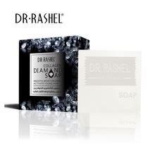 DR.RASHEL Collagen Diamond Face Soap Smoothing Moisturizing Facial Cleanser 100g moistfull collagen