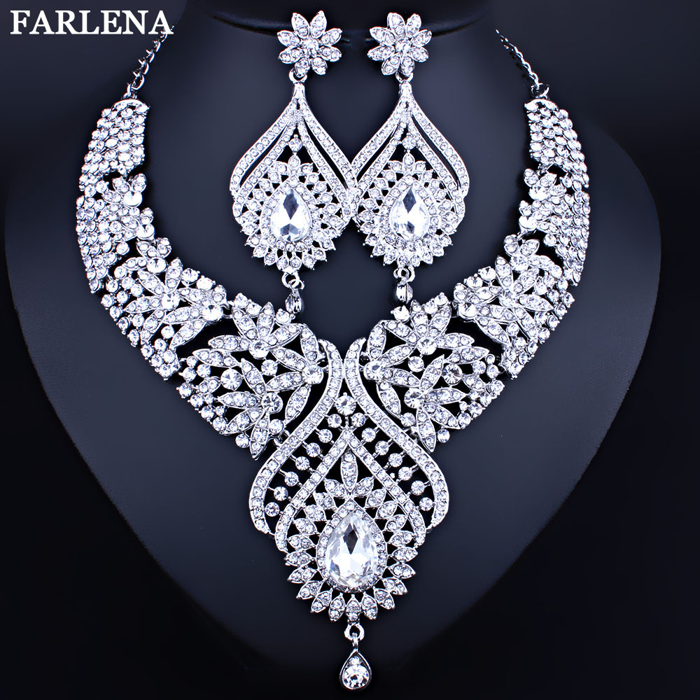 Aliexpress Com Buy New Fashion Necklace Earrings Bridal: Aliexpress.com : Buy Wedding Jewelry Silver Plated Peacock